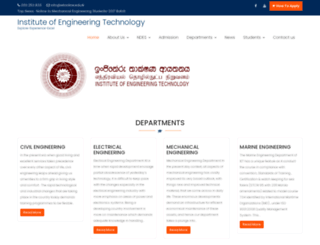 iet.edu.lk screenshot