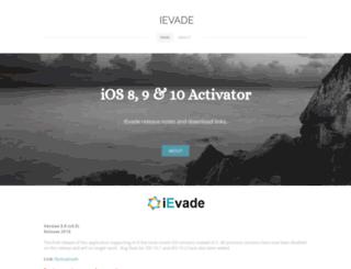ievade.weebly.com screenshot