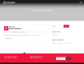ievent.janxcode.com screenshot