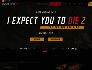 iexpectyoutodie.schellgames.com screenshot