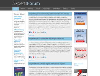 iexpertsforum.com screenshot