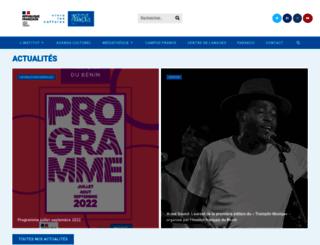 if-benin.com screenshot