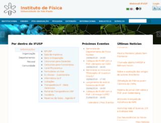 if.usp.br screenshot