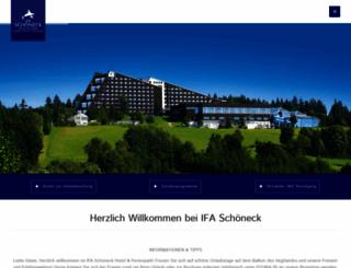 ifa-ferienpark-vogtland.de screenshot