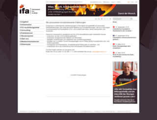 ifa-swiss.ch screenshot