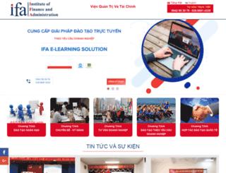 ifa.edu.vn screenshot