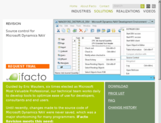 ifactorevision.com screenshot