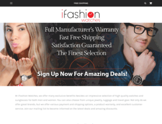 ifashionwatches.com screenshot