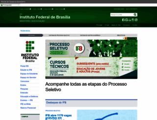 ifb.edu.br screenshot