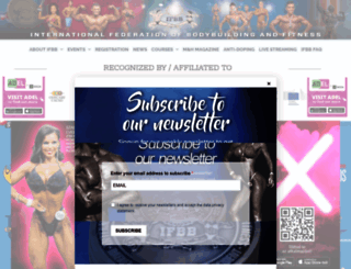 ifbb.com screenshot