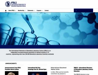 ifbls.org screenshot