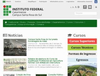 ifc-sombrio.edu.br screenshot