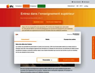 ifc.fr screenshot