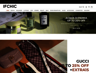 ifchic.com screenshot