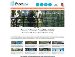 ifenceusa.com screenshot