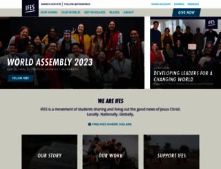 ifesworld.org screenshot