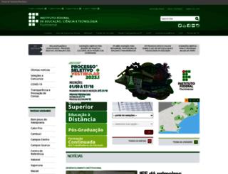 iff.edu.br screenshot