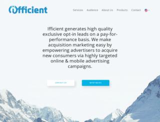ifficient.com screenshot