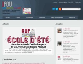 ifgu.auf.org screenshot