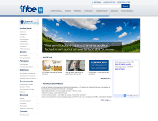 ifibe.edu.br screenshot