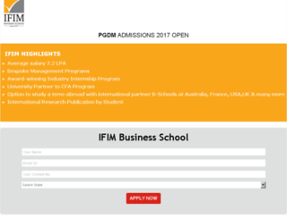 ifim.careers360.com screenshot