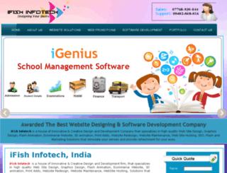 ifishinfotech.com screenshot