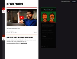 ifiwereyoushow.com screenshot