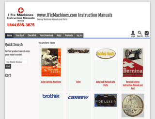 ifixmachines.com screenshot