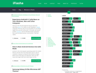 iflasha.blogspot.com screenshot