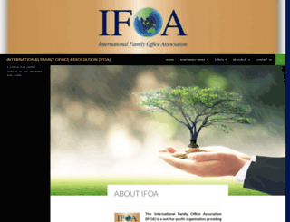 ifoa.asia screenshot