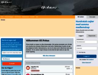 ifokus.se screenshot