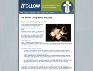 ifollowdiscipleship.org screenshot