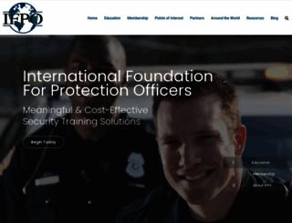 ifpo.org screenshot