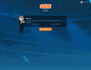 iframe.onlinesoccermanager.com screenshot