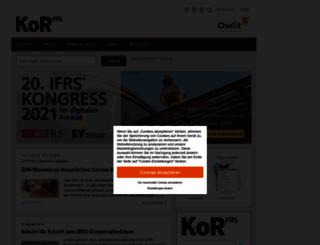 ifrs-fachportal.de screenshot