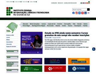 ifrs.edu.br screenshot