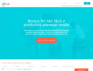 ifruitplanner.com.br screenshot
