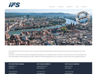 ifs.ch screenshot