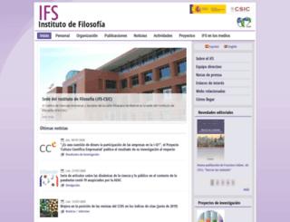 ifs.csic.es screenshot