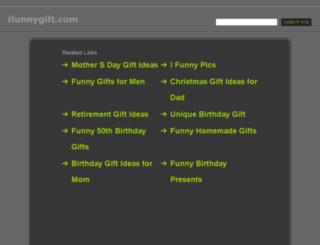 ifunnygift.com screenshot
