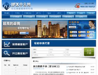 ifx.cn screenshot