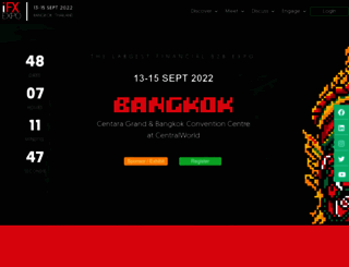 ifxexpo.com screenshot