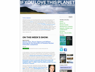 ifyoulovethisplanet.org screenshot