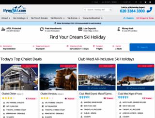 ifyouski.com screenshot