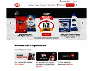 iga.com.au screenshot