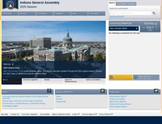 iga.in.gov screenshot