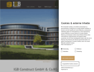 igb-construct.de screenshot