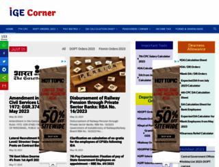 igecorner.com screenshot