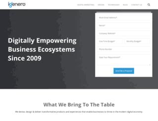 igenero.com screenshot