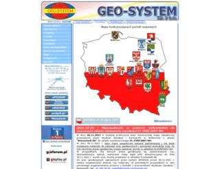 igeomap.pl screenshot